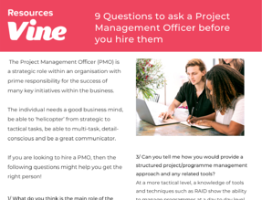 Image - 9 Questions to ask a Project Management Officer before you hire them-1