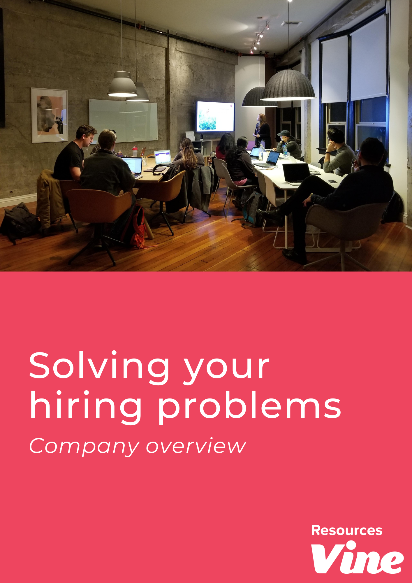 Image - Solving your hiring problems - Vine Resources
