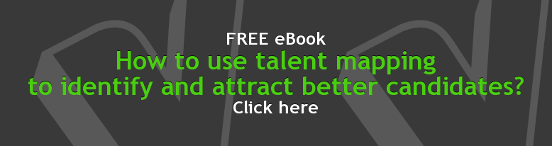 FREE eBook How to use talent mapping  to identify and attract better candidates? Click here