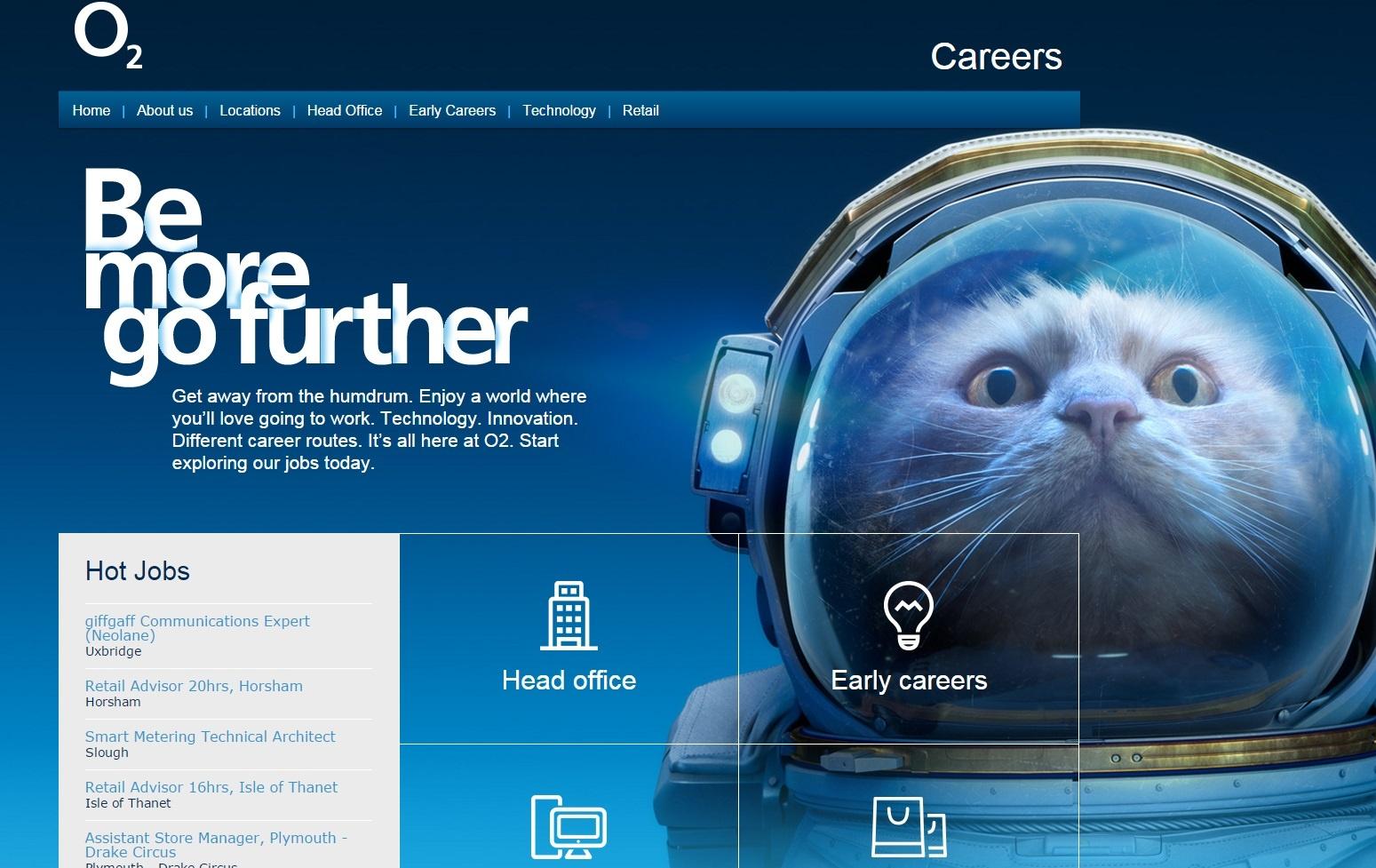 O2's Career Site