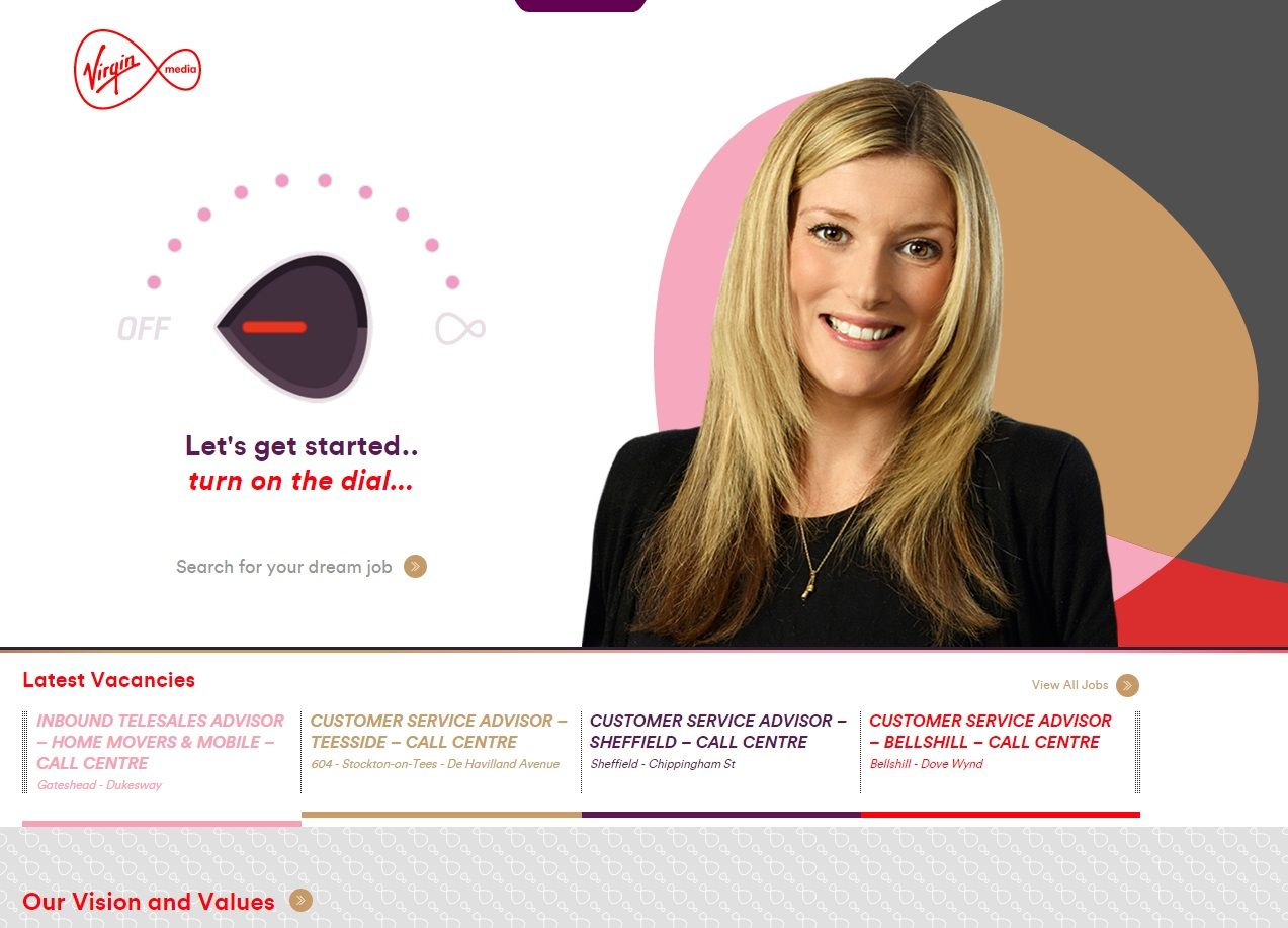Virgin's Career Site